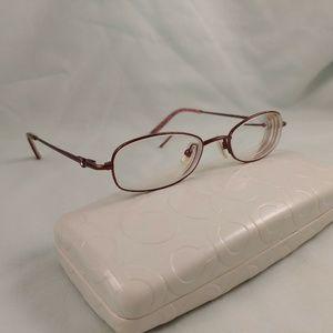 COACH Rx Eyeglasses Metal Frames 109 JAMIE Full